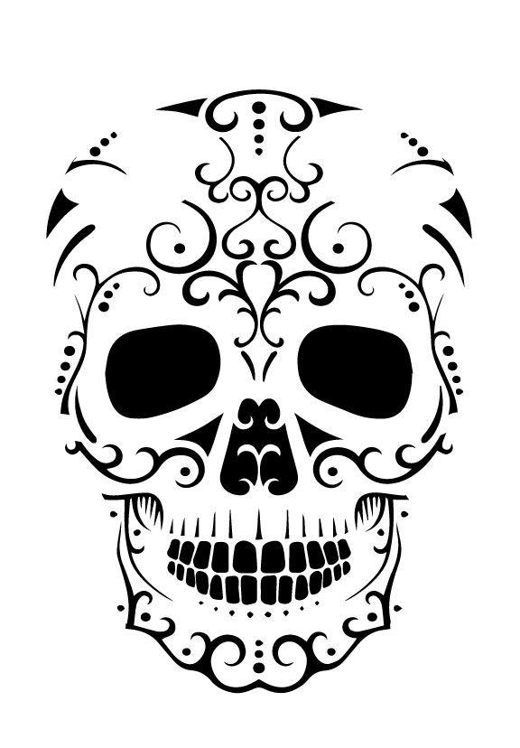Sugar Skull Stencil Pumpkin Craze Skull Stencil Sugar Skull Stencil Pumpkin Patterns Free