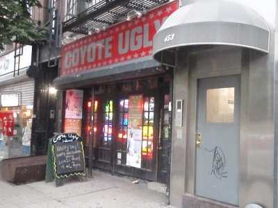 Original Coyote Ugly Bar New York