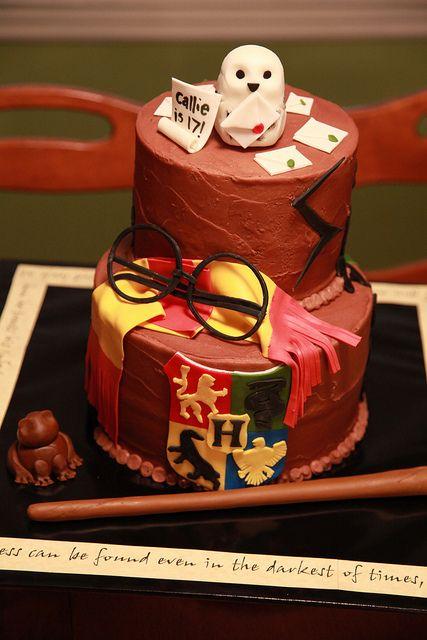 Fiesta de Harry Potter una temática para todas las edades - tarta 2
