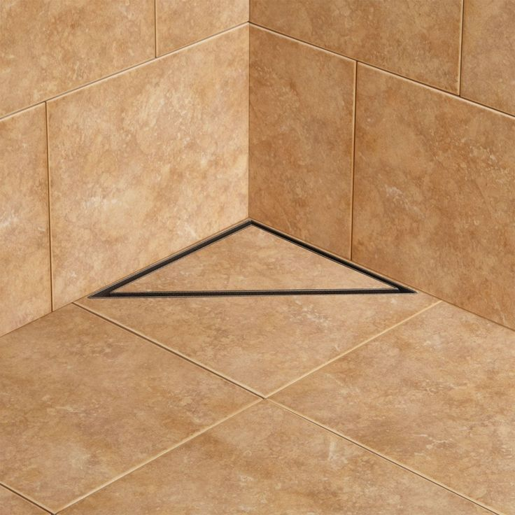 Cohen Triangular Shower Drain Shower Drain Bathroom Tub Shower