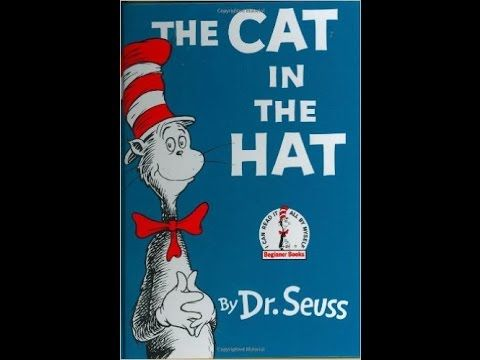 The Cat in the Hat by Dr. Seuss, audio book - ReadingLibraryBooks - YouTube