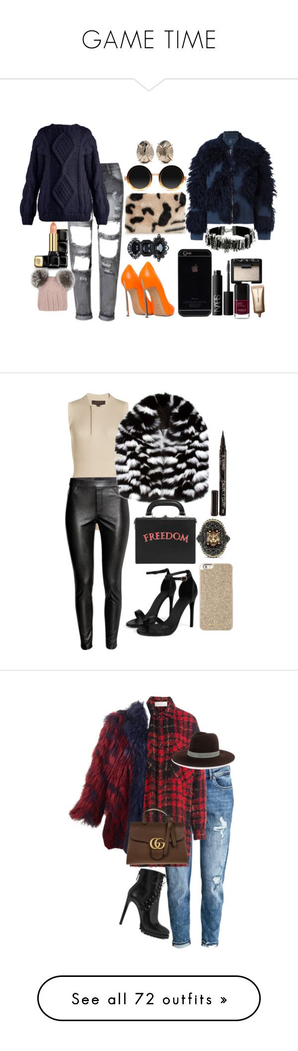 """""""GAME TIME"""" by staydiva on Polyvore featuring moda, Moscot, Shrimps, I Love Mr. Mittens, 3.1 Phillip Lim, Melissa Joy Manning, Marc Jacobs, Dsquared2, NARS Cosmetics y Nude by Nature"""