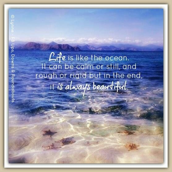 Life Is Like The Ocean Quotes: Quotes/Poems