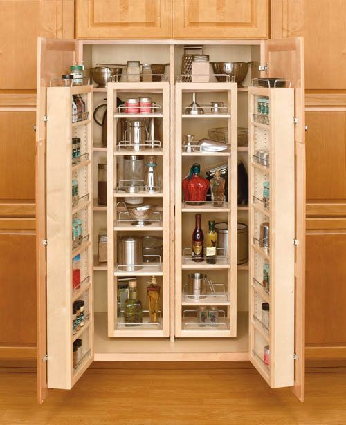 how to build a slide out pantry