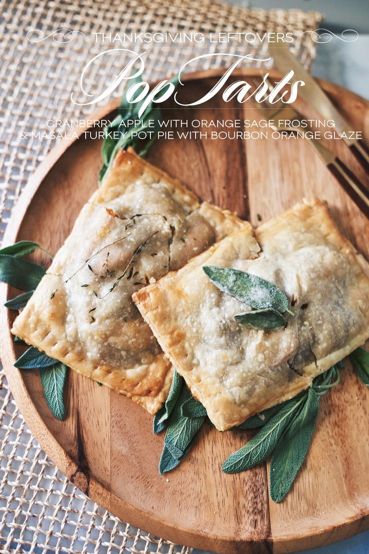 I don't know what gets me more excited: pop tarts for dinner or a new way to eat Thanksgiving leftovers. So much genius! Get the recipe from Dine x Design.   - Delish.com
