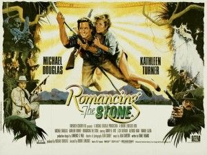 """Romancing the stone"" has everything: romance, adventure, horror, suspense, silliness and a lot of fun."