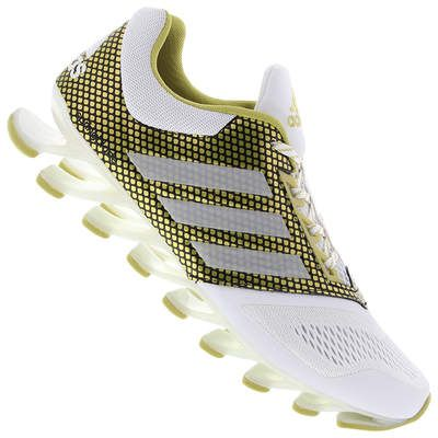 low priced 660d6 4641b adidas springblade pro white gold