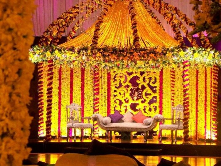 Mehndi Stage Decoration Dailymotion : Best images about mehndi stage design on pinterest