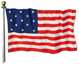 U.S. Flag History. On June 14, 1777 the first official U.S. flag was created