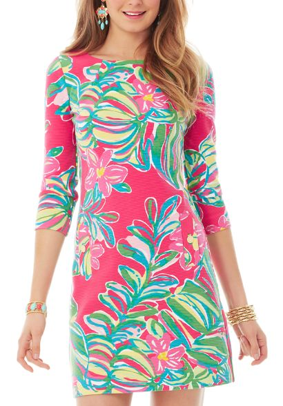 Lilly Pulitzer Printed Charlene Shift Dress in Jungle Tumble