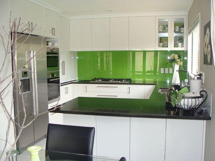 Green Backsplash Kitchen Ideas Pictures Photos Images