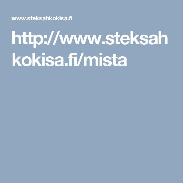 http://www.steksahkokisa.fi/mista
