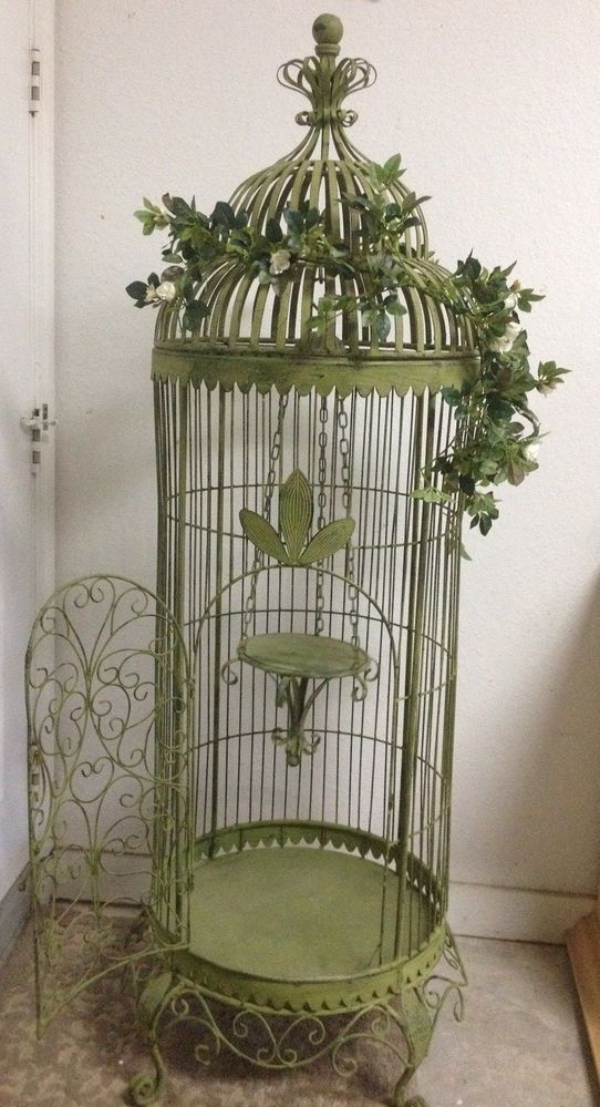 428 best images about birdcages on pinterest. Black Bedroom Furniture Sets. Home Design Ideas