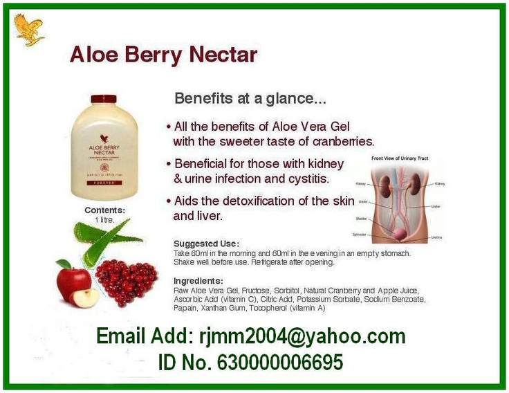 Aloe Berry Nectar contains all of the vitamins, minerals