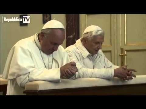 VIDEO ESCLUSIVO - Papa Francesco incontra Benedetto XVI -