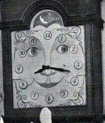 Captain Kangaroo's clock