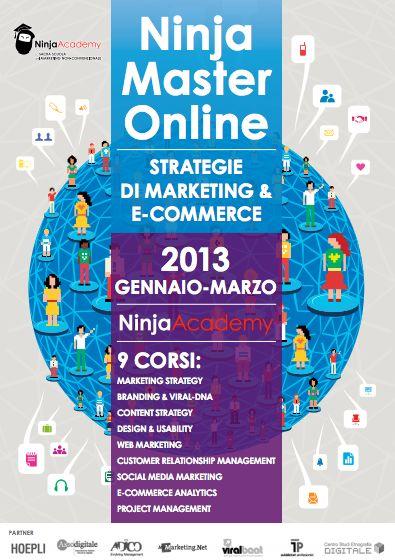 Master Online in Strategie di Marketing & E-commerce - Come progettare e gestire un e-commerce di successo