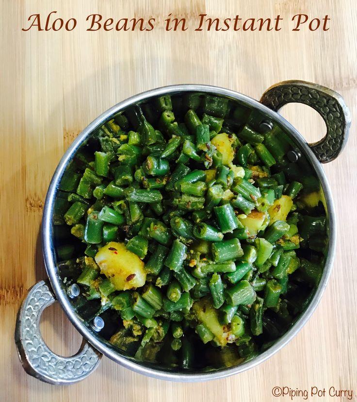 how to make aloo beans