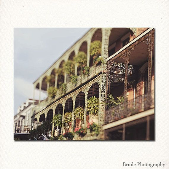 Royal Street Balconies, New Orleans Photography Royal Balconies architecture, french quarter, home decor wall art -  8x10, 11x14, 16x20