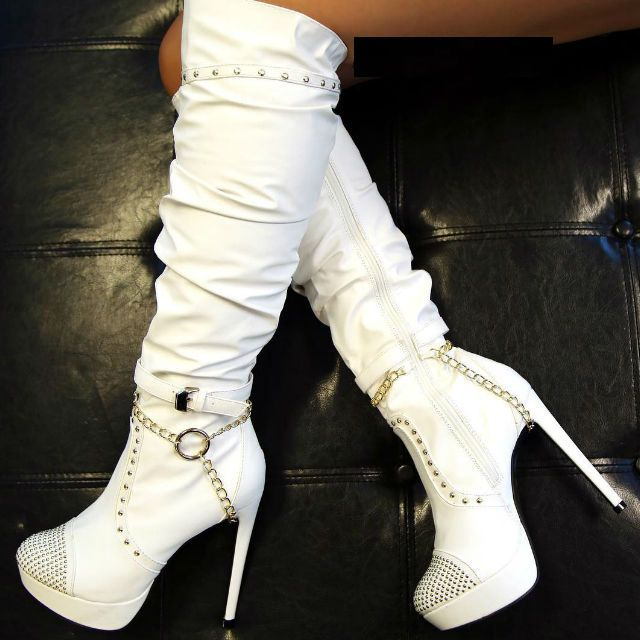 25 best high heel boots ideas on