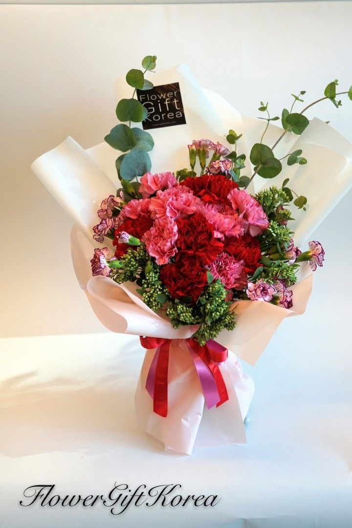 Mix Carnation Bouquet Flower Delivery Service Flower Gift Flower Delivery