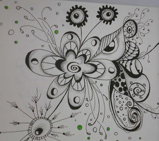 Doodle Art | Doodle art journal page 3 detail | Flickr - Photo Sharing!