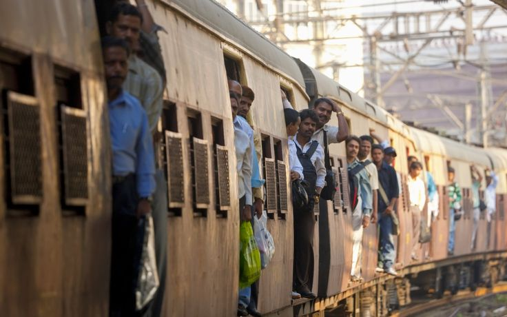 Great Ways To Commute To Work | Rough Guides Mumbai Suburban railway, India