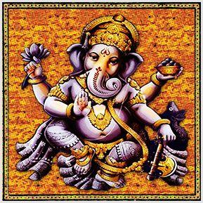Ganesha - Quadrinhos confeccionados em Azulejo no tamanho 15x15 cm.Tem um ganchinho no verso para fixar na parede. Inspirados em deuses indianos. Para entrar em contato conosco, acesse: www.babadocerto.com.br