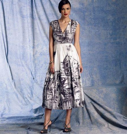 Patron de robe - Vogue 1402 42-44-46-48-50 (E5)