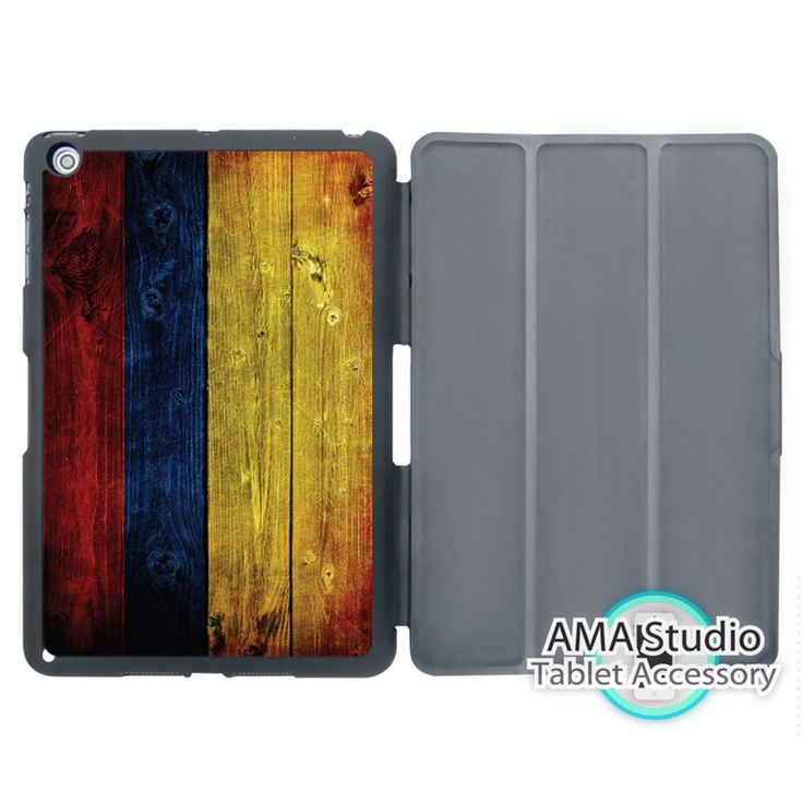 Vintage Colombian Flag Smart Cover Case For Apple iPad Mini 1 2 3 4 Air Pro 9.7