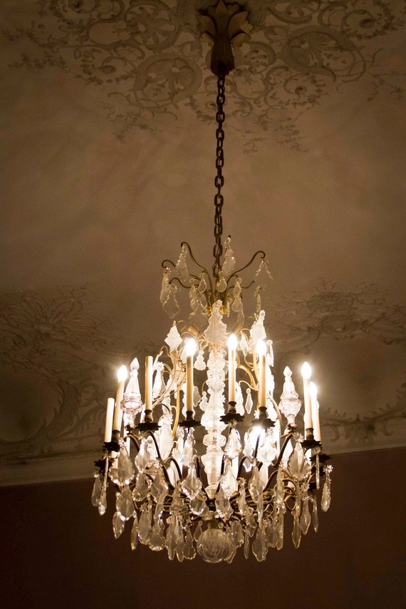 17 best images about victorian crystal chandelier on Crystal candle chandelier