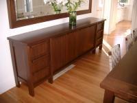 Polished Timber Sideboard