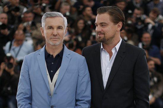 Leonardo DiCaprio and Baz Luhrmann- Leo looks so proud