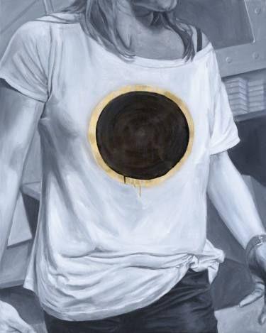 "Saatchi Art Artist sebastian sleczka; Painting, ""Eclipse"" #art"