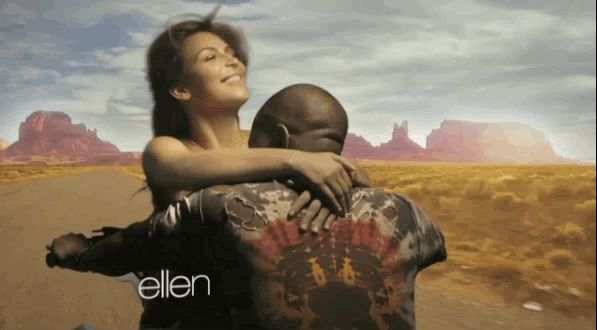 21 GIFs Of Kanye And Kim Demonstrating How Baby North West Was Made
