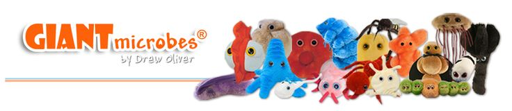 Royalegacy Reviews and More: Giant Microbes - Fun Gifts for Christmas - Review & Giveaway - Ends 12/17 US