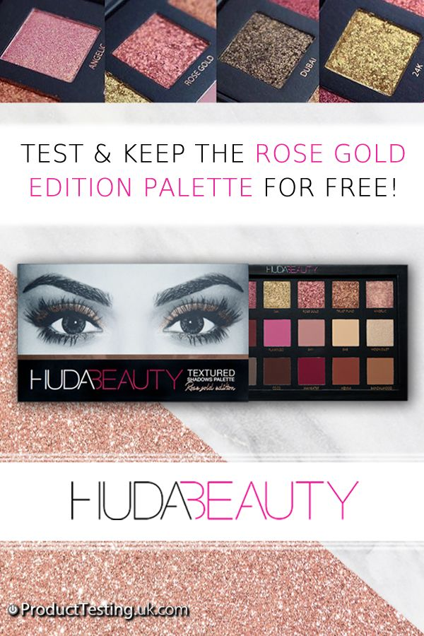 Product Testing UK are looking for reviewers to test and keep the Huda Beauty Textured Shadow Palette for free! Get your hands on the popular palette by registering today.