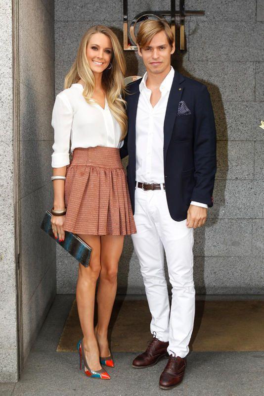 Astrid Klisans y Carlos Baute