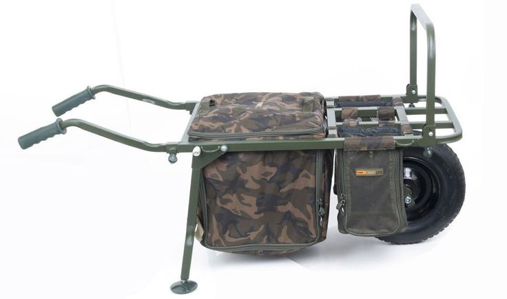 Carp Fishing Tackle   Tackle Discounts Cyprinus Carp Fishing Wheel Barrow Trolley With Rod Porter & Bag   Wheel Barrow Rod And Line Angling Centre Fox NEW Carp Fishing FX Explorer Bar…