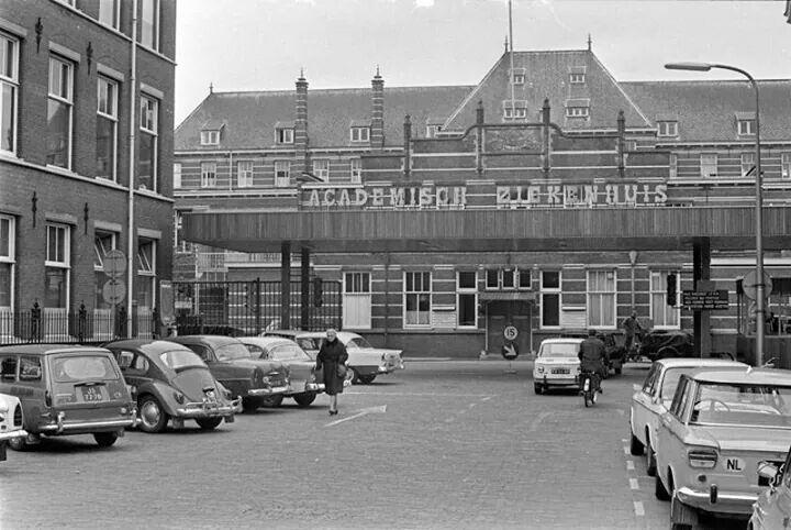 Oude Academisch Ziekenhuis op de Catharijnesingel