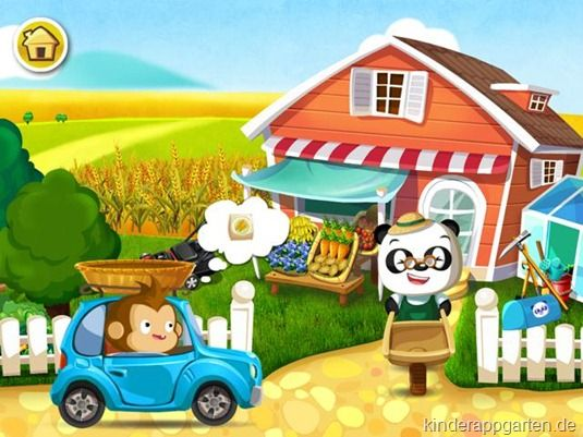 Dr. Panda Gemüsegarten | iPad iPhone Kinder Apps