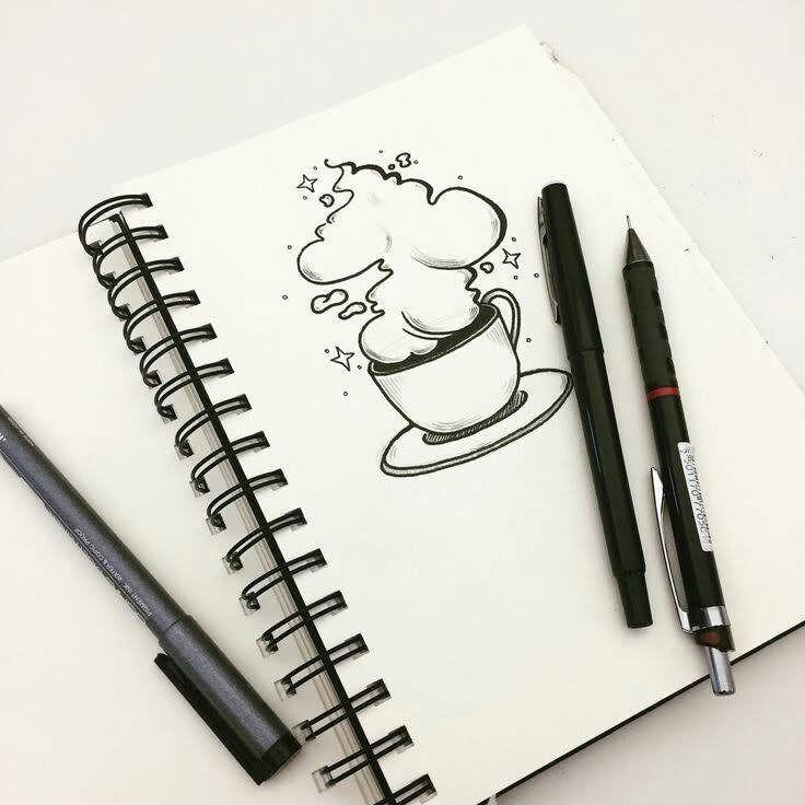 Картинки, рисунки для срисовки легкие и красивые картинки для скетчбука