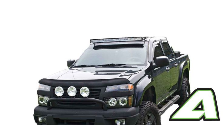 """2004-2012 Chevy Colorado Apoc Roof Mount for 42"""" Curved Led Light Bars"""