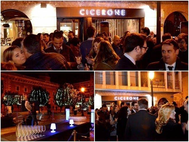 Inauguración del Restaurante Cicerone