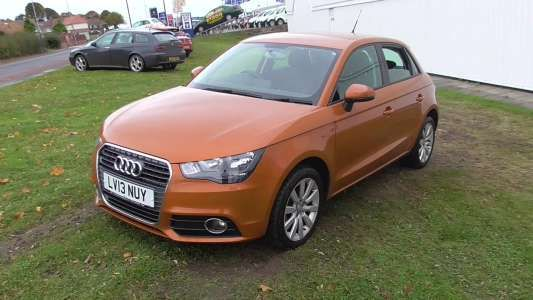 Used 2013 (13 reg) Orange Audi A1 1.2 TFSI Sport 5dr for sale on RAC Cars