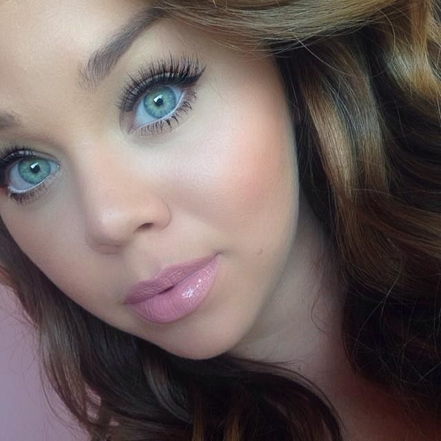 Natural look from Motives Cosmetics