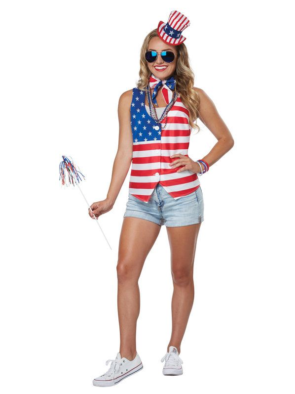 Check out Womens Patriotic Costume Kit from Wholesale Halloween Costumes