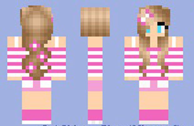 girl minecraft skins images   Summer Girl Skin for ...