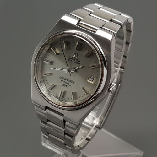 #Omega #seamaster cosmic 2000 automatic date dive #watch cal. 1012 w/bracelet 197,  View more on the LINK: http://www.zeppy.io/product/gb/2/331894983584/