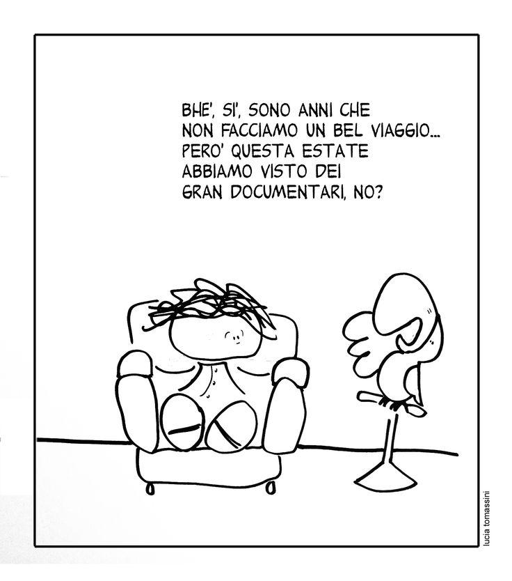 Vignetta_22Ago Aritié Ferie @Lucia Tommasini